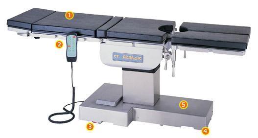 Bàn mổ điện OT-2200 / OT-2100