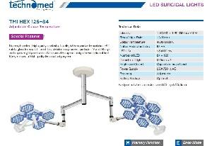 Đèn led phẫu thuật Model: TMI HEX 126+84