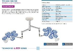 Đèn led phẫu thuật Model: TMI HEX 126+105