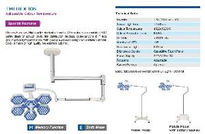 Đèn led phẫu thuật Model: TMI HEX CT 5+5