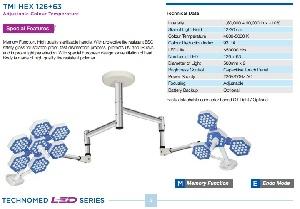 Đèn led phẫu thuật Model: TMI HEX 126+63