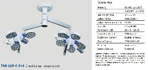 Đèn led phẫu thuật Model: TMI HEX CT 5+3