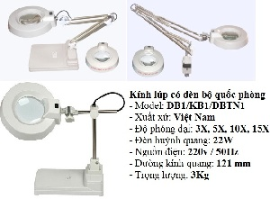 Kính lúp bộ quốc Phòng, kính lúp để bàn, kính lúp kẹp bàn,kính lúp công nghiệp