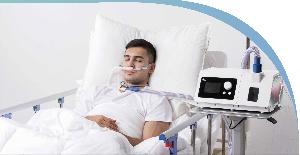 Máy thở Oxy dòng cao và trợ thở không xâm lấn (HFNC- Bipap) R80B
